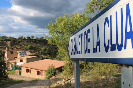 Farmhouse - Villa. Casalet de la Clua (10-16 pax) - Casa de campo