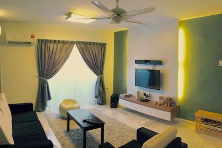 M Lodge l 3 Bedrooms+Free WIFI - Malacca - Appartamento