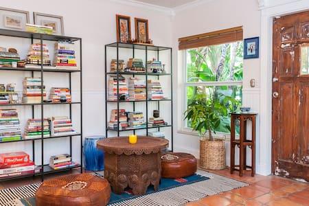 Cozy bedroom in tropical bungalow!