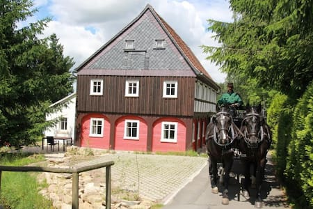 Oberlausitz Ferienhaus Gebirgshäusl - Hus