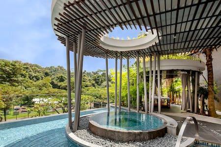 New Balinese condo