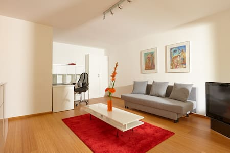 Room type: Entire home/apt Bed type: Pull-out Sofa Property type: Apartment Accommodates: 2 Bedrooms: 0 Bathrooms: 1