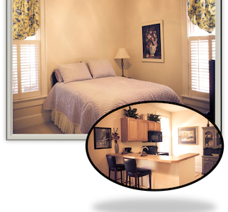 Charming Suites in Historic Village - Bed & Breakfast