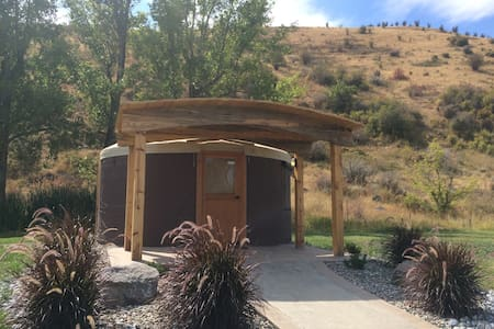 The Yurt at Grande Hot Springs - La Grande - Yurt