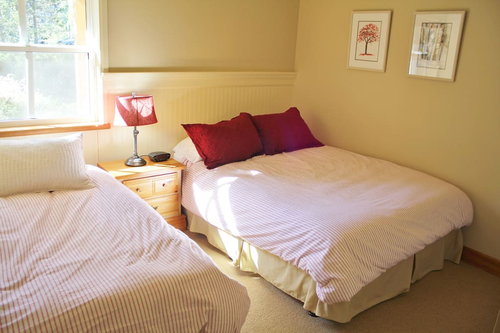 Guest room Double & Twin bed.