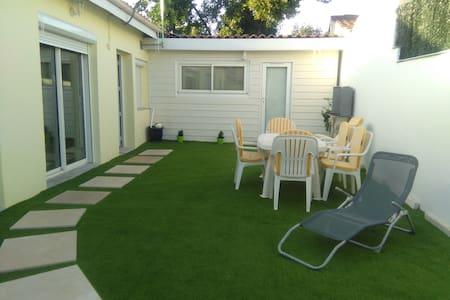 studio avec jardin dans bordeaux - Huis