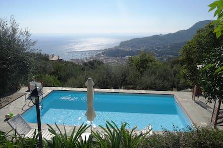 Villa &pool between sea and village - Santa Margherita Ligure - Villa
