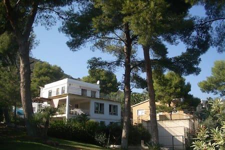 Villa unifamiliar jardin y piscina - Benicàssim - Almhütte