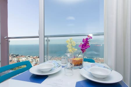 2700- Vip Full Sea Wiew - İzmir - Apartment