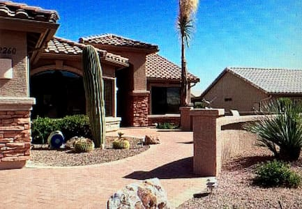 Amazing Views from a Larado in Saddlebrooke, AZ - Tucson - Casa