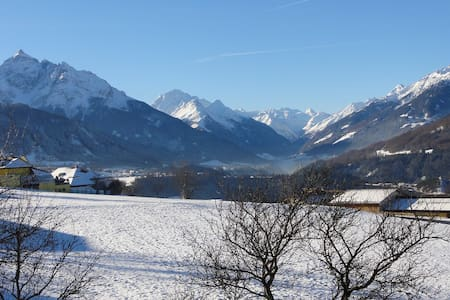 Impressive view nearby Innsbruck - Patsch - Nature lodge