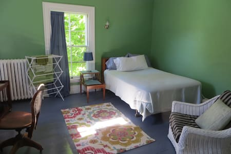 A guest room near Belfast downtown and harbor. - House