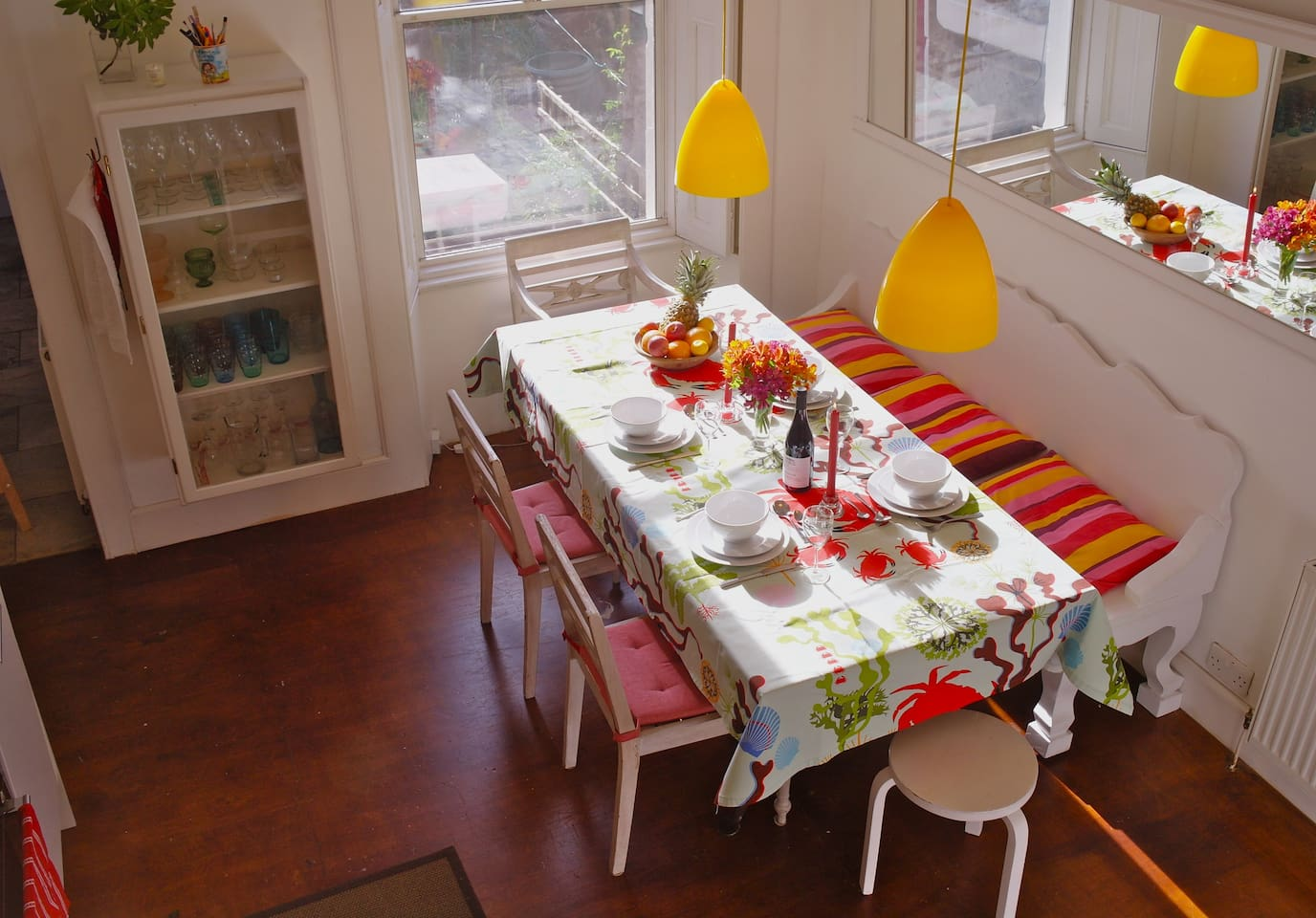 Heart of the home: the spacious dining kitchen