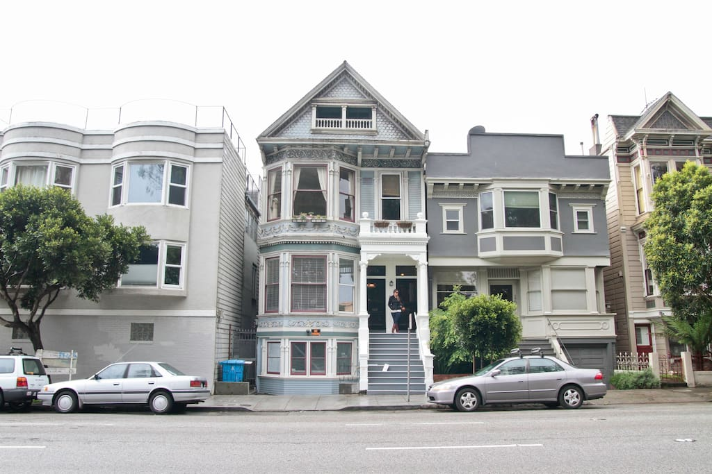 Beautiful Victorian next to GG Park