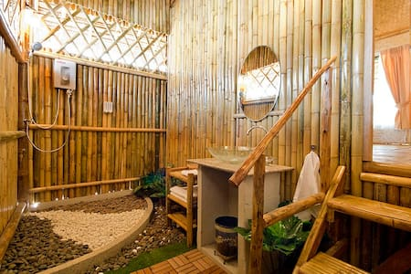 Bungalow luxe with spa & Breakfast - Maison