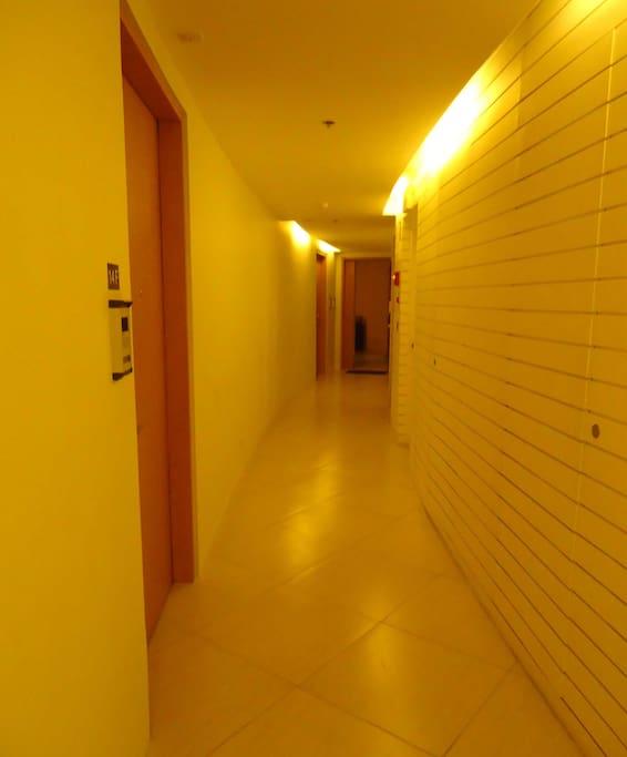 Hallway to Entrance of Unit