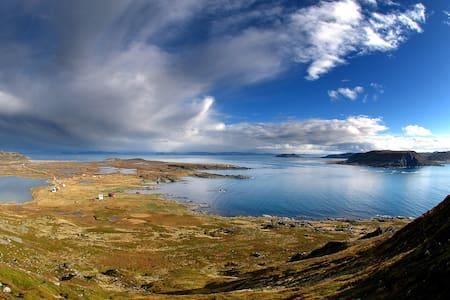 Amazing view on the top of Norway - Blockhütte