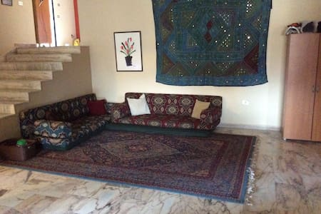 Arabic Couches for Tyre Explorers in a Family Home - Tyre