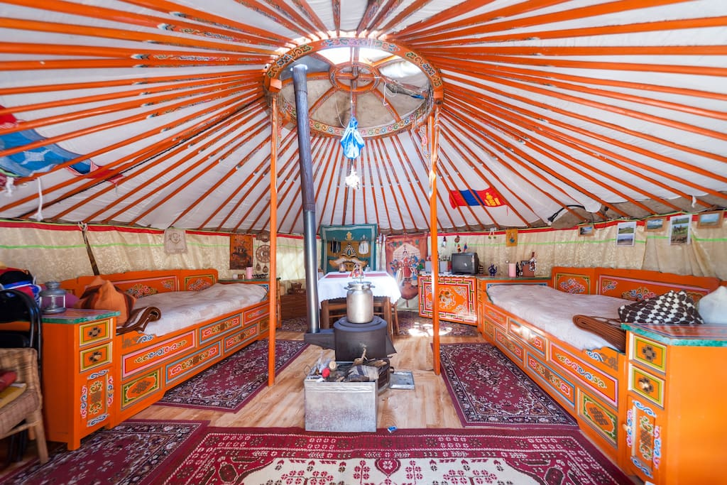 Original Mongolian Yurt In Dresden Yurts For Rent