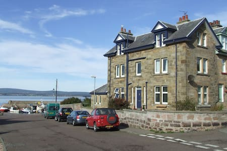 Harbour Room, Mandeville B&B - Cromarty - Inap sarapan