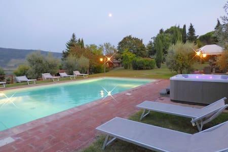 Casa al Monte typical farmhaouse tu - Greve In Chianti - Villa