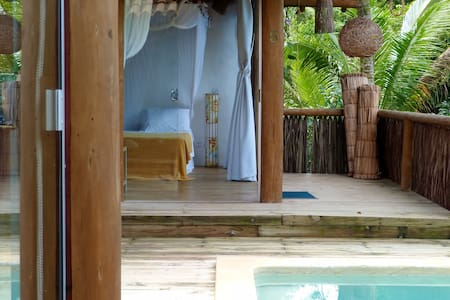 Bungalows & private pool - Trancoso - Bed & Breakfast
