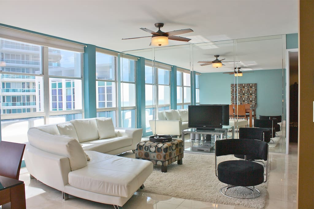 Miami Beach Oceanfront Apartment