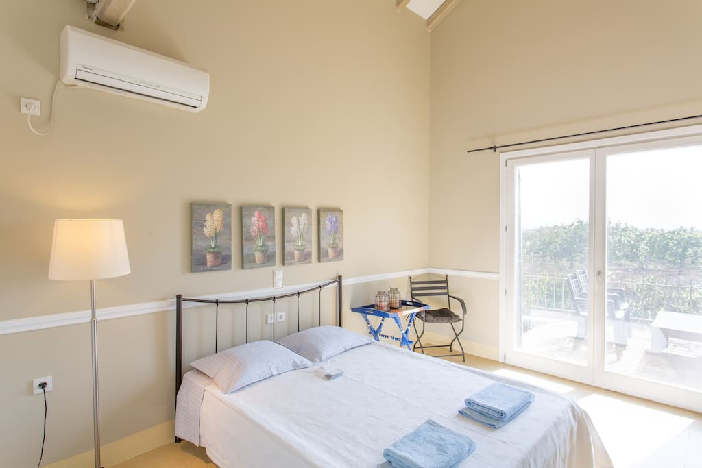 Spacious and airy bedrooms with super comfy beds.