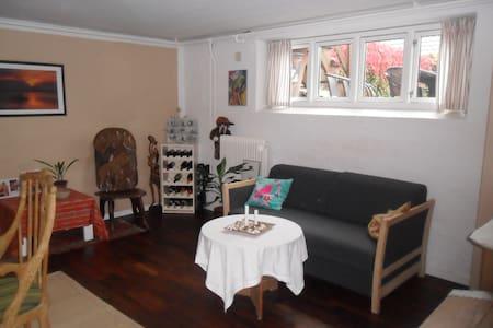 Hyggeligt lyst kælder værelse. - Aarhus - Casa