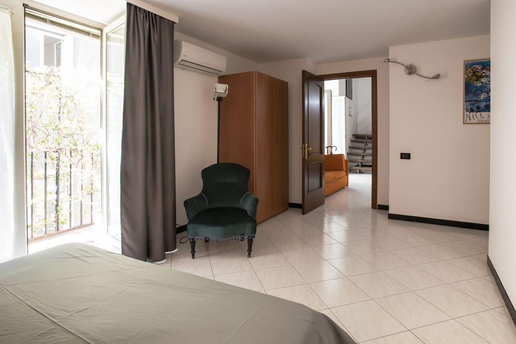 Prima camera da letto/ First bedroom