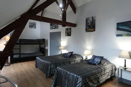 chambre familliale - Quesmy - Bed & Breakfast