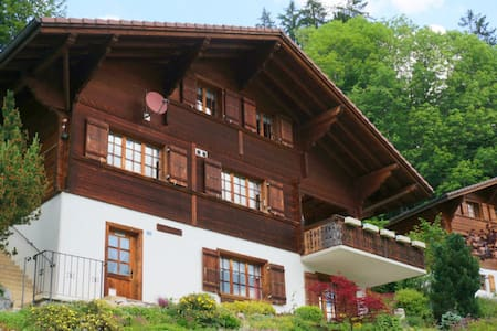 Typical Swiss Chalet - House