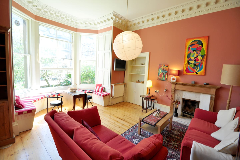 Victorian flat in Bruntsfield