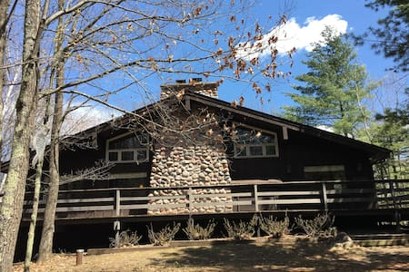 Lodge cabin in the woods of Cable, WI - Cable - Cabane
