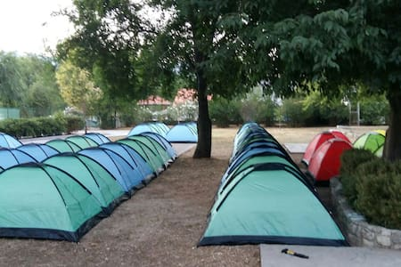 Summer Camp Split - Tent