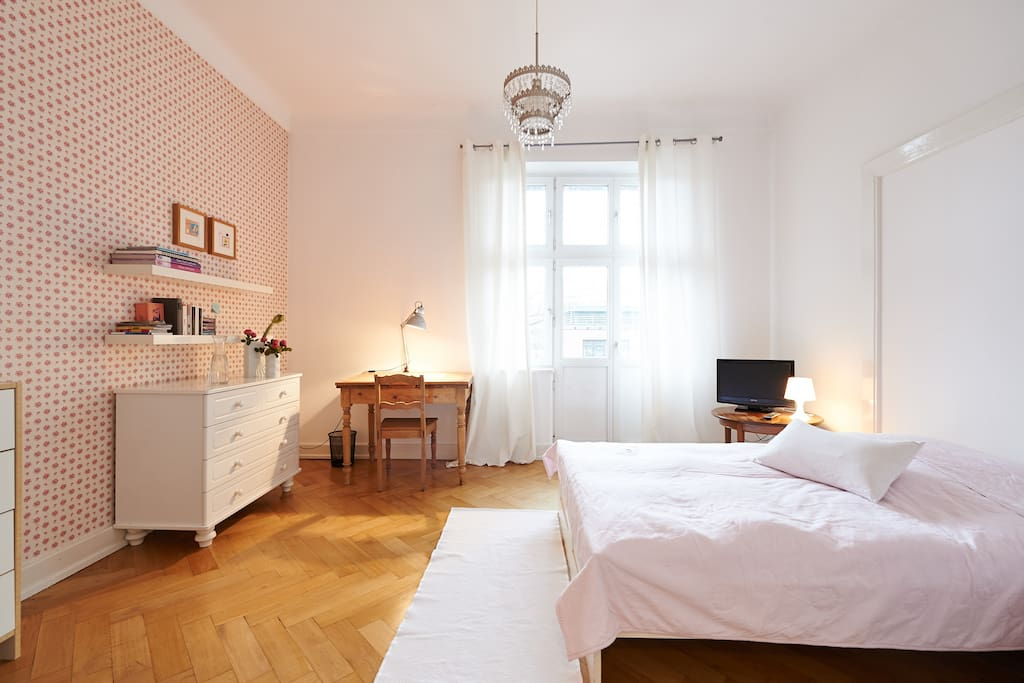Airy room in Hamburgs Sternschanze