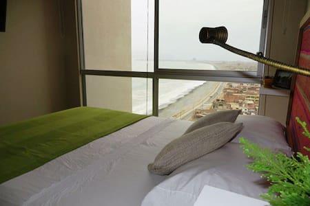Habitación privada excelente vista al mar PACIFICO - Callao - Apartemen