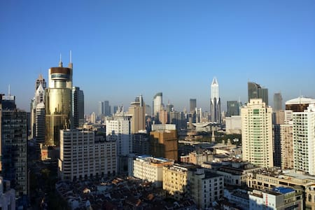 SPECTACULAR Views of Yuyuan, Bund private Balcony - Shanghai - Apartment