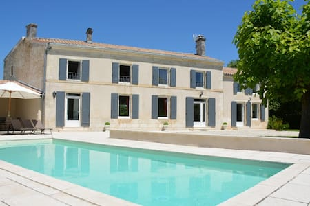 Luxurious house with heated pool - Saint-Georges-du-Bois - House