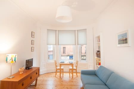 Gorgeous flat, fantastic location near University - Glasgow