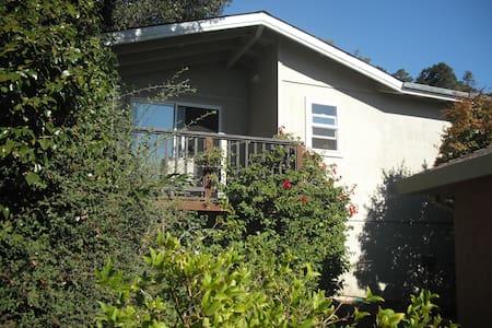 Private Cottage w/ Deck & Bay Views - San Rafael