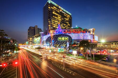 1Bed @Siam,Free Limo, BTS/Wifi/Pool