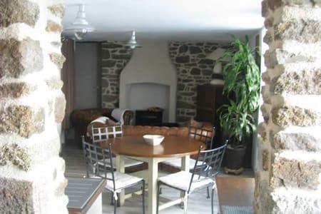 Charmante maison avec spa proche St Malo - Miniac-Morvan - Casa
