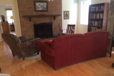 Comfortable farm apartment - Charlottesville - Casa