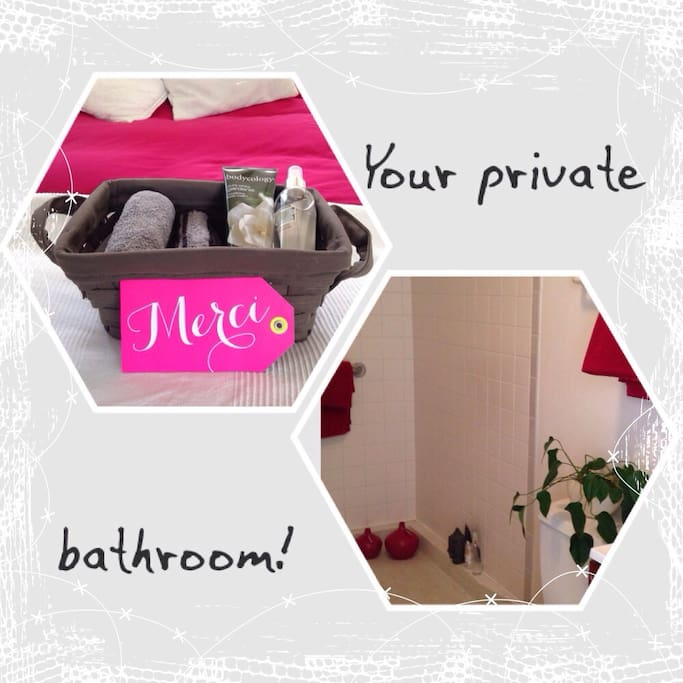 Lovely Private Bed & Bathroom