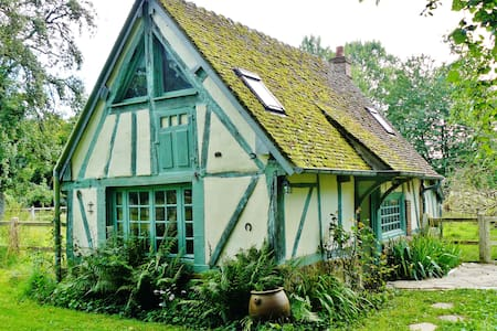 Little cottage in a large garden - House