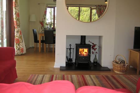 4 * Lodge, 5 min walk to beach, garden & parking - Alnmouth - Casa