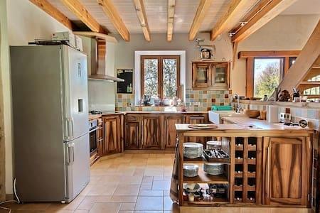 Grande maison de campagne idéale pour famille/amis - Rilhac-Treignac - Dom