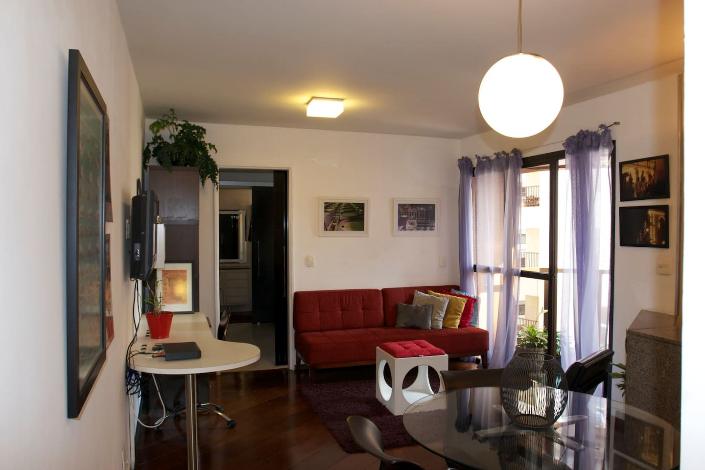 Cozy Furnished apartment -São Paulo