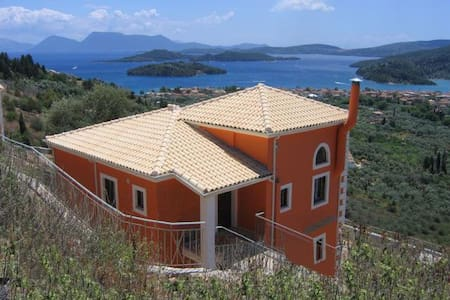 Villa Olive - breathtaking view - Lefkas